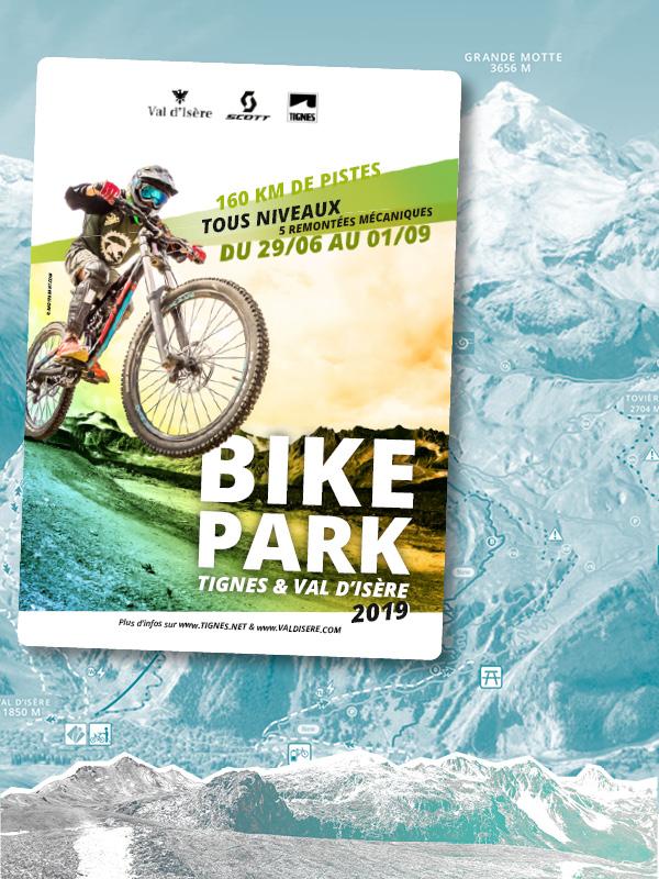 Pistes De Vtt Tignes Bike Park Savoie