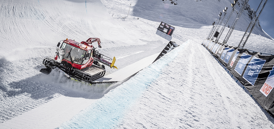 A behind the scenes look at the construction of a superpipe