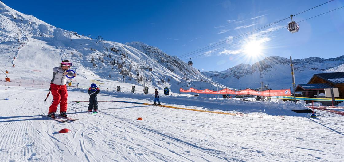 Le vrai/faux du ski avec les tout-petits