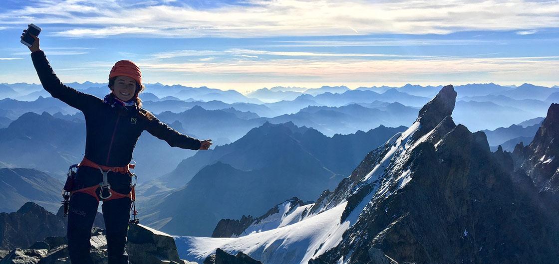 Préparez votre saison de ski alpinisme avec Adèle Milloz