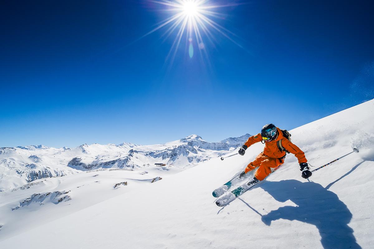 pistes de ski - Photo