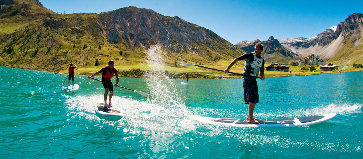Sports en t tignes vacances t montagne for Vacances d ete a la montagne avec piscine
